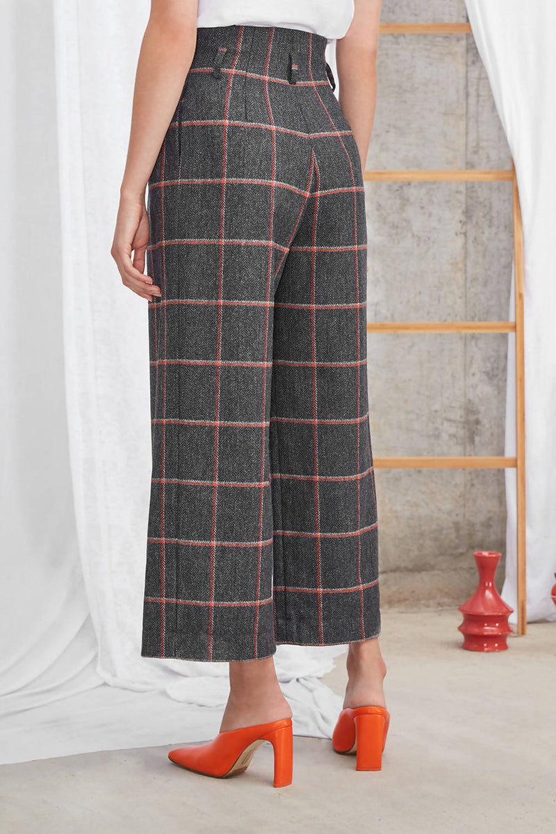 Andy Culottes Dark Grey - Space to Show