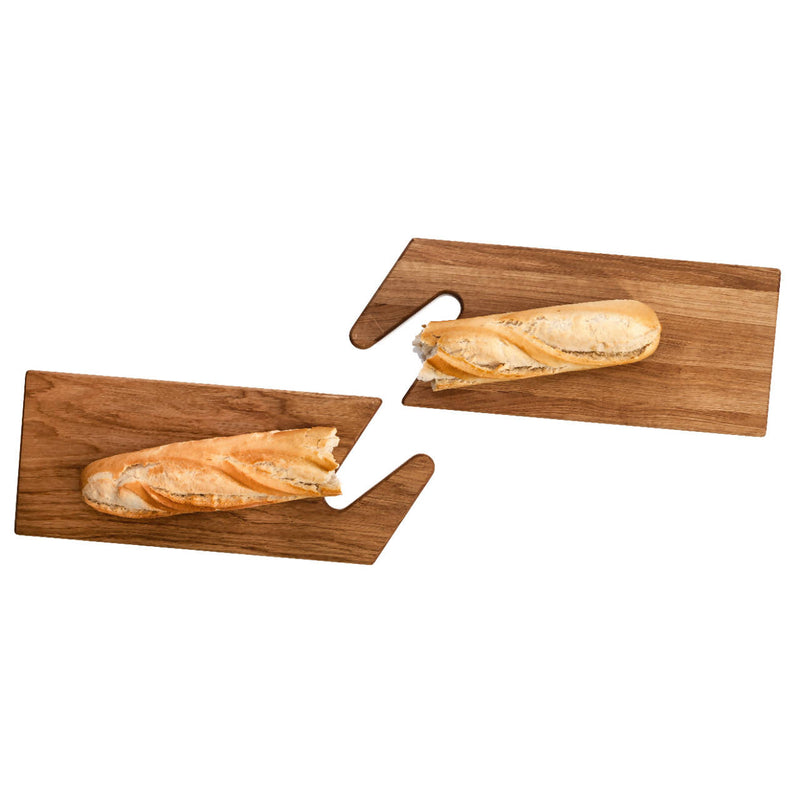 THE CONNECT Serving Boards Oak & Oak - Space to Show