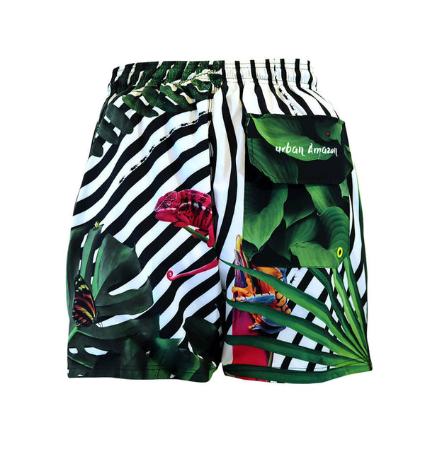 Boardshort / No.: SP20004 / Design title: urban Amazon - Space to Show