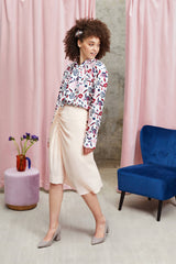 2 in 1 Sadie Skirt Peach - Space to Show