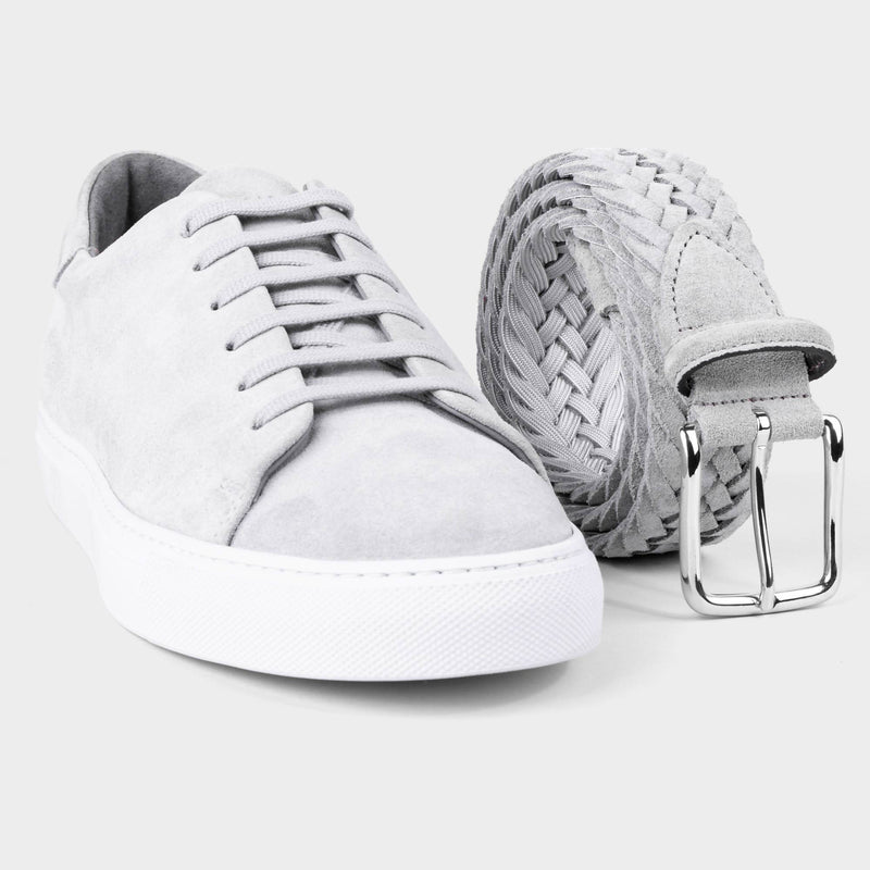 Suede Sneakers Grey - Norberto - Space to Show