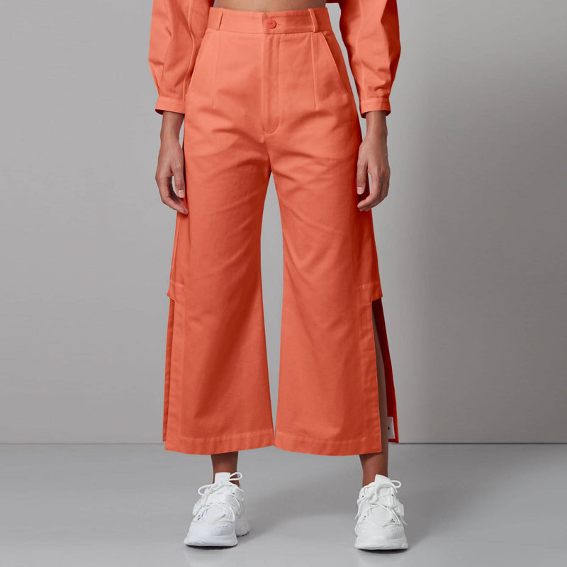 Double Slit Trousers - Space to Show