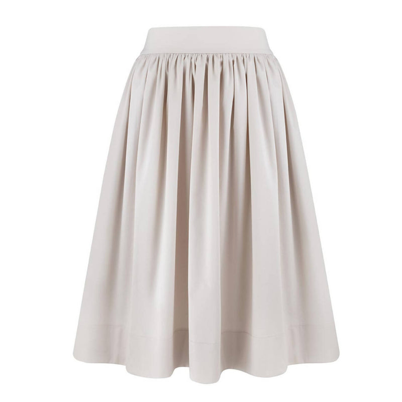 Karo A-Line Cotton Skirt - Space to Show