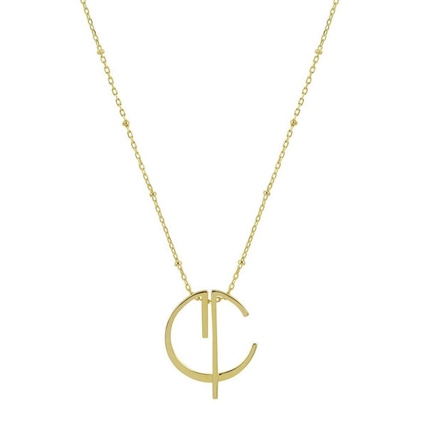 CVLCHA HOLLOW NECKLACE - Space to Show