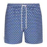 Dachshund Small Print Swim Shorts - Space to Show