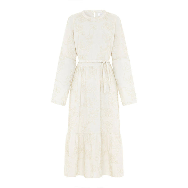 2 in 1 Nora Dress Cream White - Space to Show