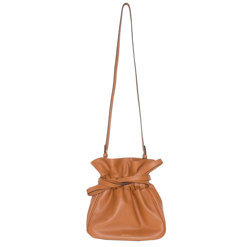 Sacfleur leather bag in tan - Space to Show