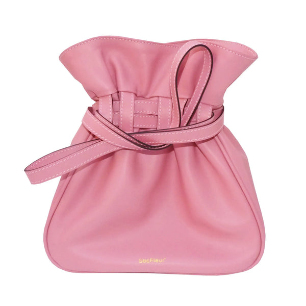 Sacfleur leather bag in pink - Space to Show