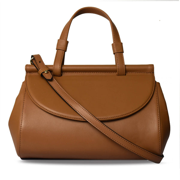 Marie leather bag | Tan - Space to Show