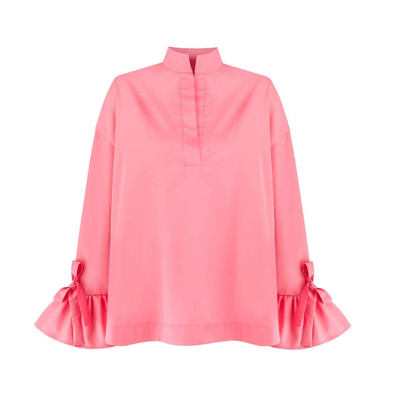 Gracia Pink Cotton Shirt - Space to Show
