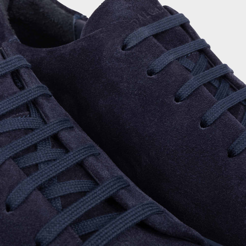 Suede Sneakers Blue - Alfredo - Space to Show