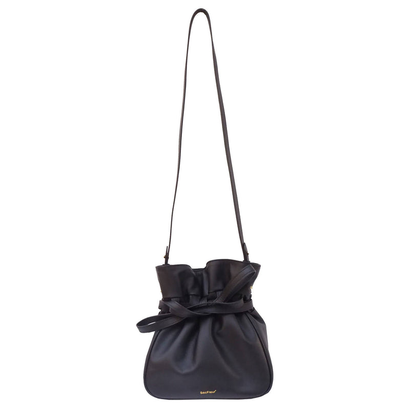 Sacfleur leather bag in black - Space to Show