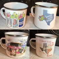 Mug - Camp Cup - Stainless Steel - Imprinted W/ Color Image