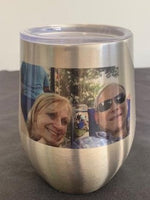 Tumbler - Wine - 12 oz - Imprinted with Color Image