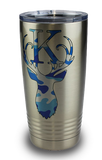 Tumbler -  Stainless - 20 oz - Imprinted with Color Image