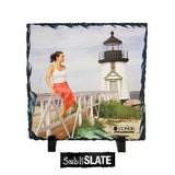"Slate Photo Plaque - 5.85"" x 5.85"" - Square"