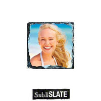 "Coaster - Slate Photo - 3.5"" - Square"