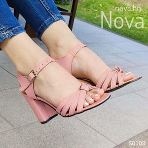 Te Veras Hermosa Con Estas Sandalias Rosado / 35 Normal Zapatos Medianos