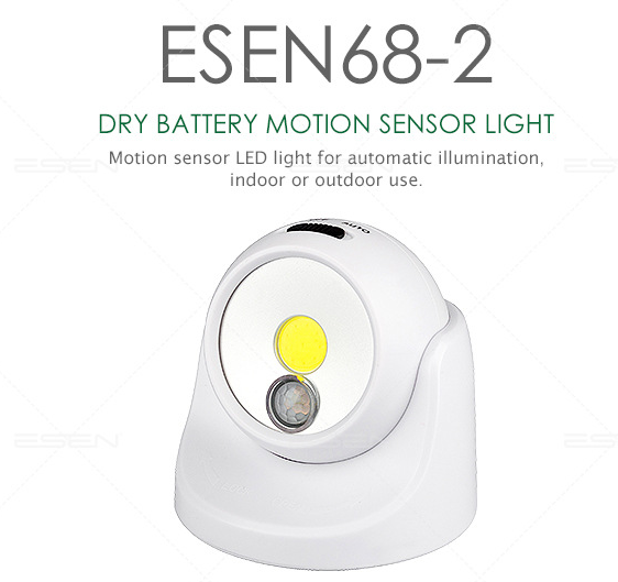 Small night light with 360 degree rotation can be carried