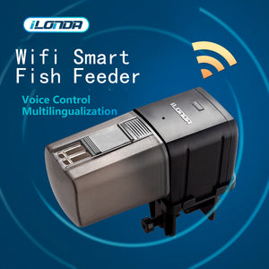 wifi smart fish feeder