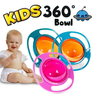 Magic saucer bowl