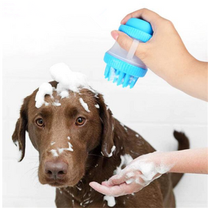 Pet bath brush - addlong