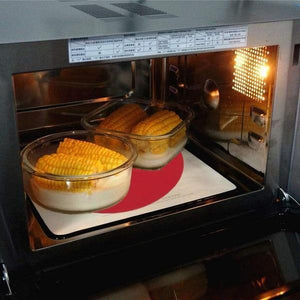 Multi-Purpose Silicone Microwave Mat, BPA Free Kitchen Tool