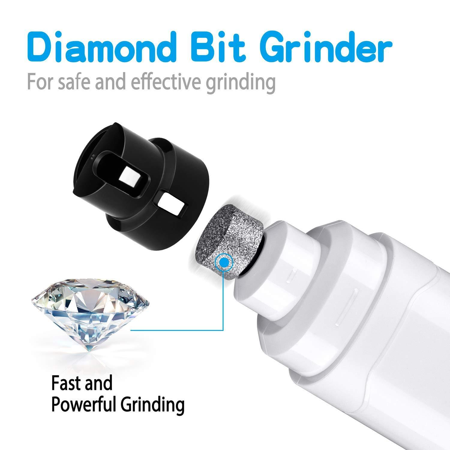 Pet Nail Grinder, Nail Grooming Tool-USB Rechargeable
