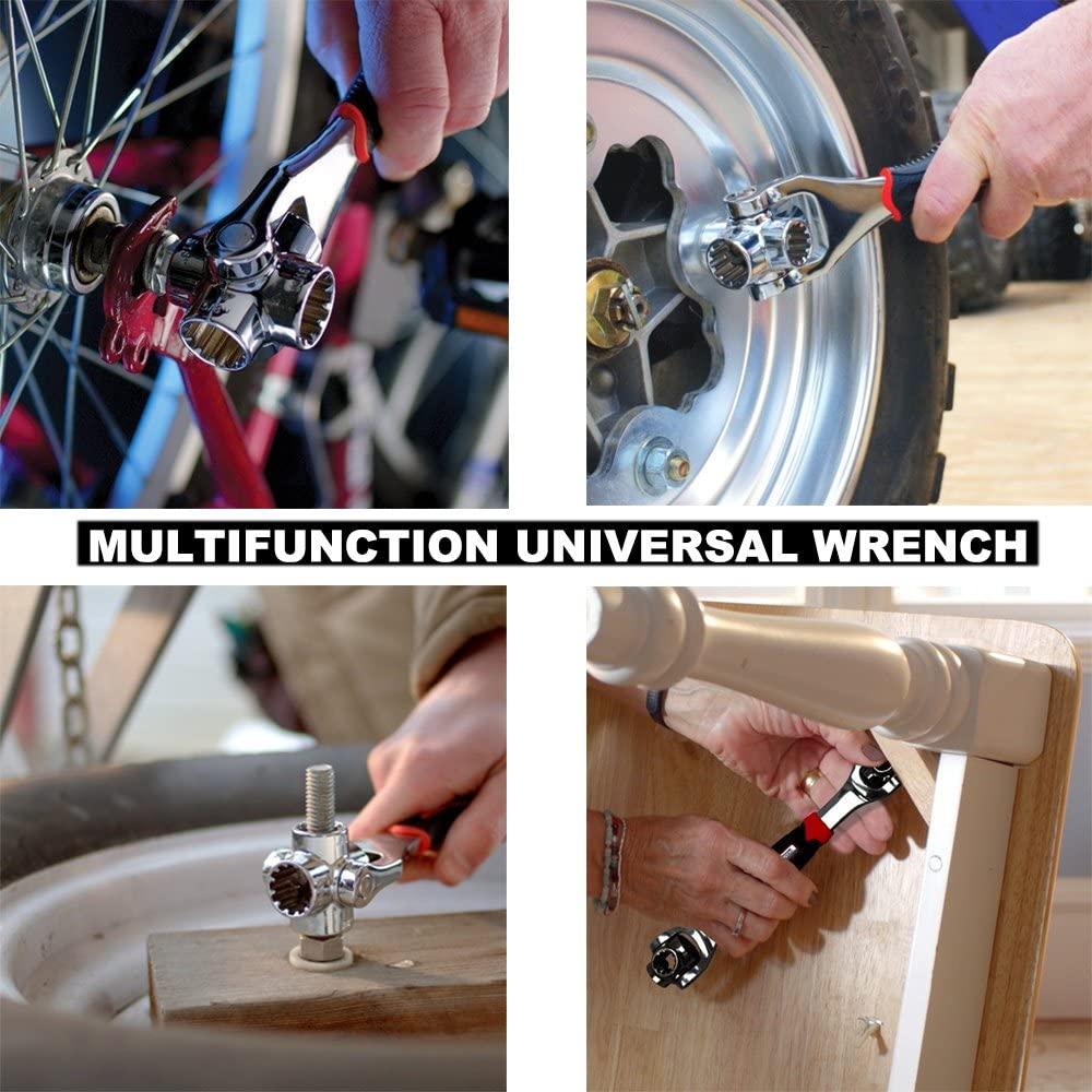 Multi-function socket wrench