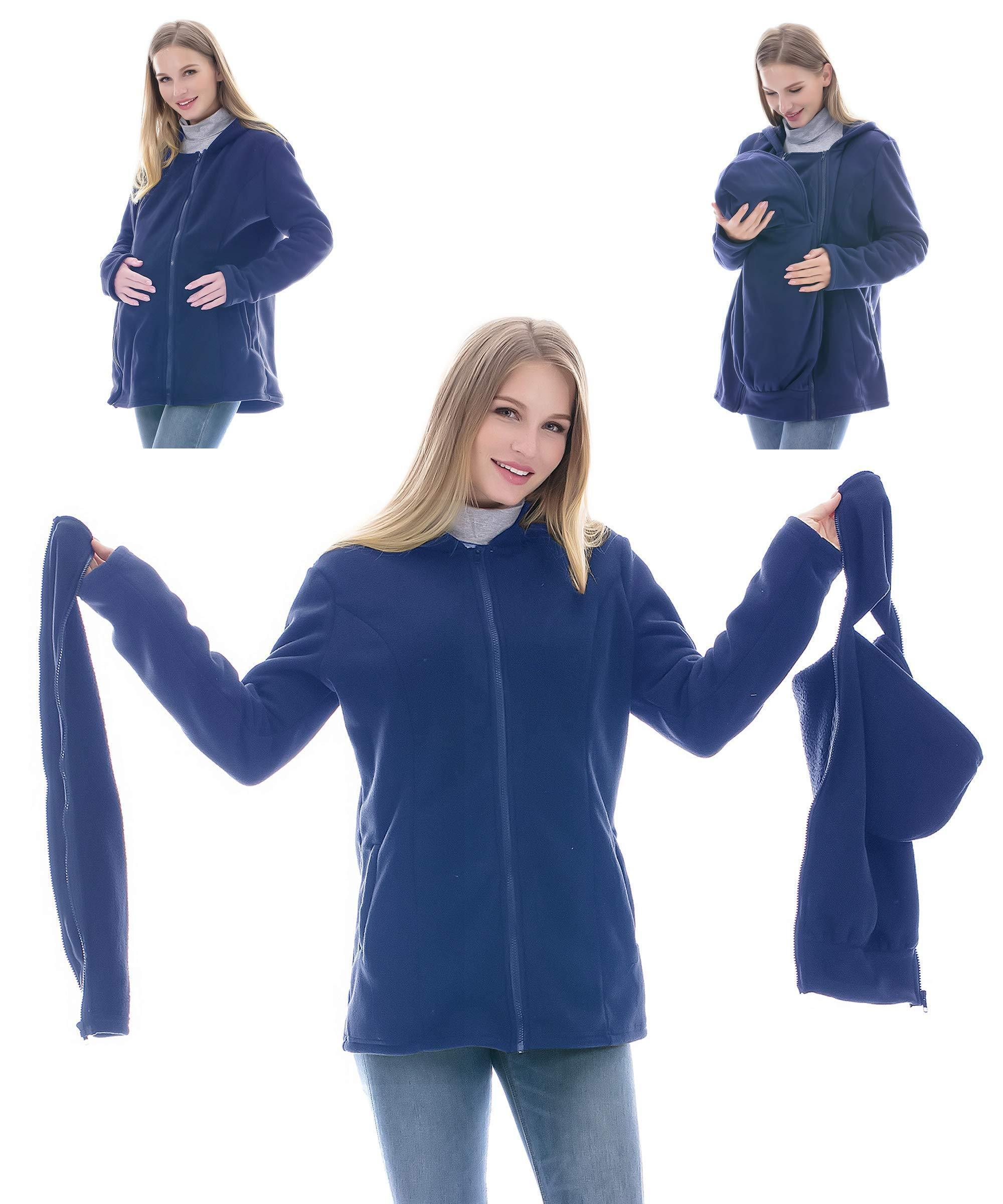 MULTI-FUNCTIONAL MOTHER KANGAROO HOODIE SWEATER