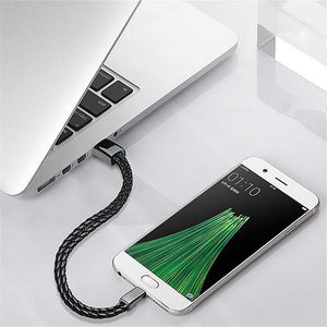Outdoor Portable Leather Mini Micro Usb Bracelet Charger Data Charging Cable Sync Cord For Iphone 6 6S Android Type-C Phone - Xodey.com