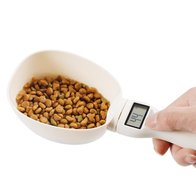 Multi-function Pet Food Scale and Scooper