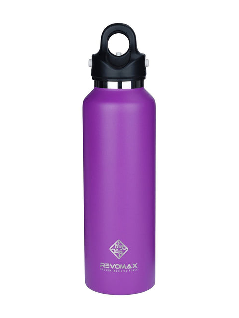 Revomax Vacuum Insulated Stainless Flask, 592ml / 20oz - Revomax Online
