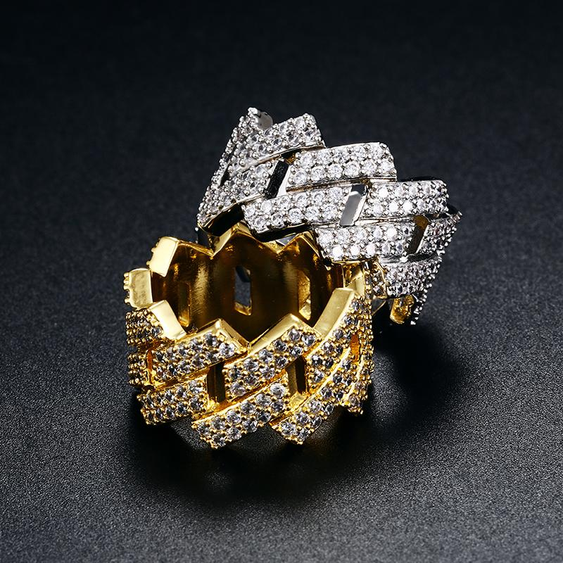 Iced Out Cuban Ring