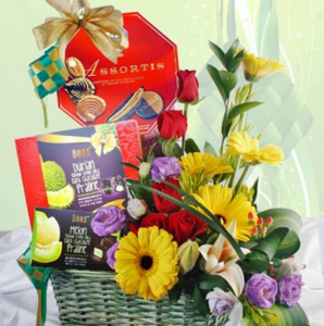 Gift Basket - Blooms In Bloom