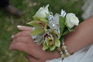Elegant Orchid Rose Corsage - Blooms In Bloom