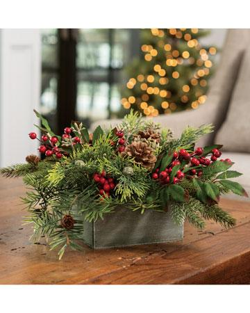Rustic Holiday - Blooms In Bloom