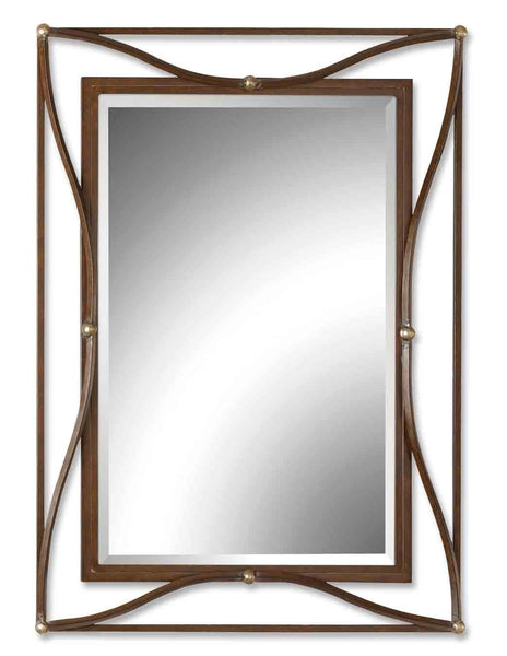 Uttermost Thierry Bronze Mirror 11547 B - BathVault