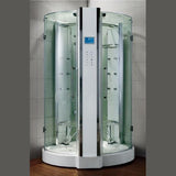 "Athena WS-121 Steam Shower 47""L x 47""W x 89""H - BathVault"