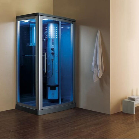 "Mesa 802L Steam Shower 45""W x 32""D x 85""H - BathVault"
