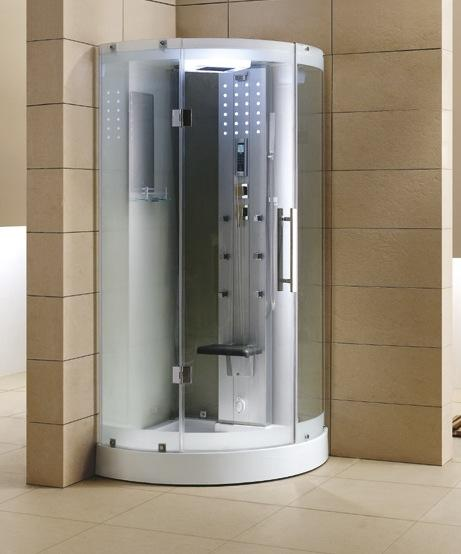 "Mesa WS-302 Steam Shower 38""L x 38""W x 85""H - BathVault"