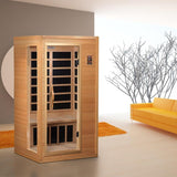 Golden Designs 1-2 Person Low EMF Far Infrared Sauna GDI-3106-01 - BathVault