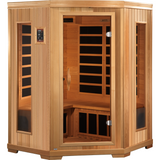 Golden Designs 3 Person Low EMF Far Infrared Sauna GDI-3356-01 - BathVault