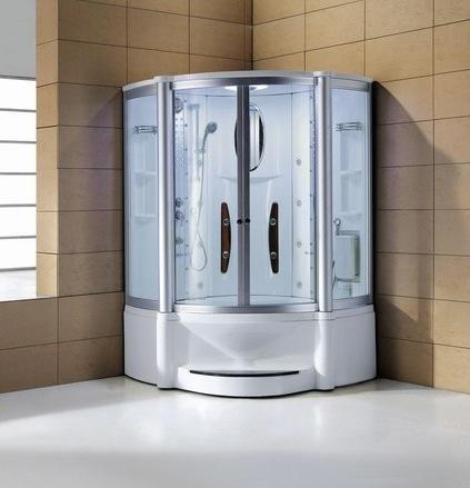"Mesa 600A Steam Shower 55""L x 55""W x 87""H - BathVault"