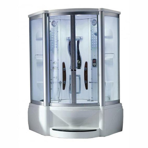 "Mesa 609A Steam Shower 48"" x 48"" x 85"" - BathVault"