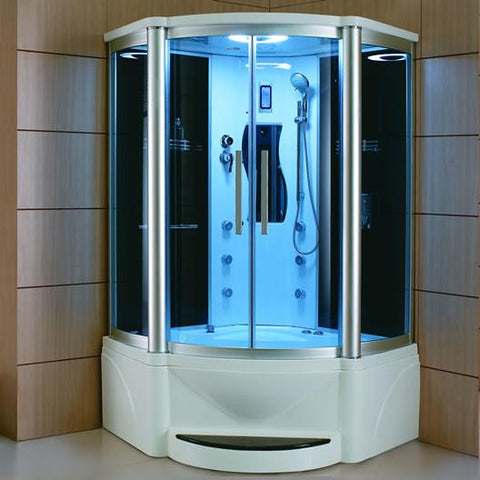 "Mesa 609P Steam Shower 48"" x 48"" x 85"" - BathVault"