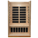 Golden Designs 2 Person Low EMF Far Infrared Sauna GDI-6232-01 - BathVault