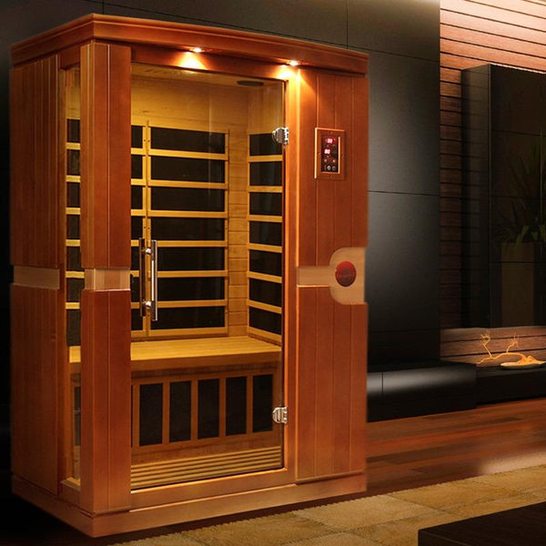 Golden Designs Infrared Sauna Dynamic Venice I Edition DYN-6210-01 - BathVault