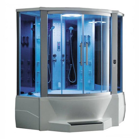 "Mesa 701A Steam Shower 66""L x 66""W x 85""H - BathVault"