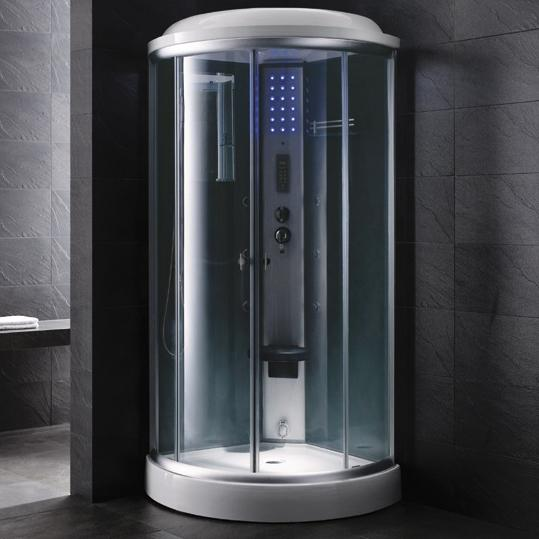 "Mesa 9090C Steam Shower 36""L x 36""W x 87""H - BathVault"